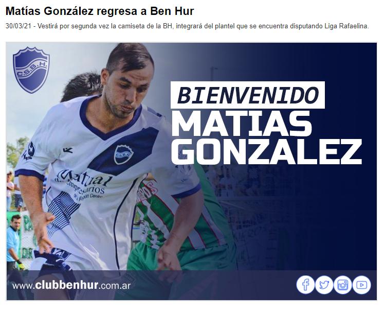 Matías González BH